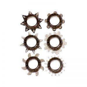Linx Tickler Textured Ring Smoke Assorted