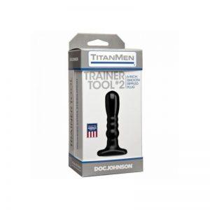 TitanMen Trainer Tool #2 6 Inch Smooth Rippled Plug