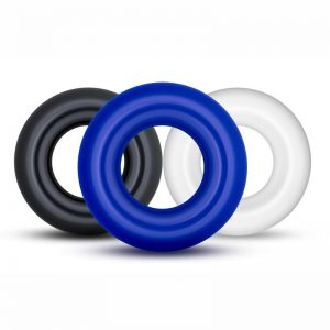 Stay Hard Donut Cock Ring - 3 Pack